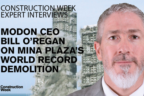 Modon's Bill O'Regan on the World Record Mina Plaza demolition