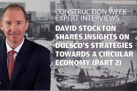 David Stockton shares Dulsco's strategies towards a circular economy