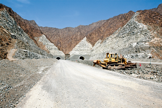 The Shis to Khorfakkan Road and Tunnels