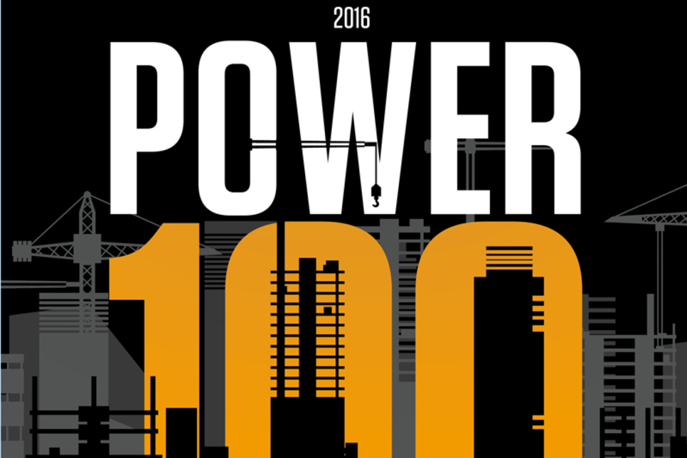 2016 Construction Week Power 100
