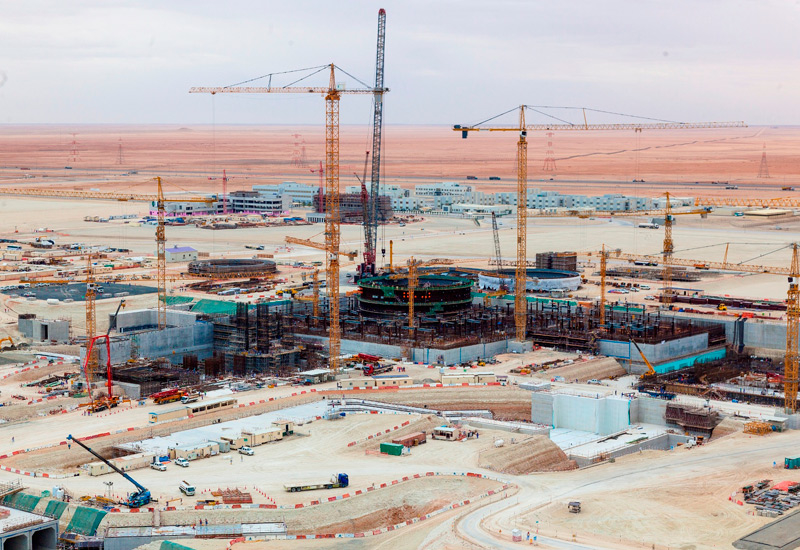 Once completed, the Barakah plant is expected to deliver up to a quarter of the UAE's electricity needs.