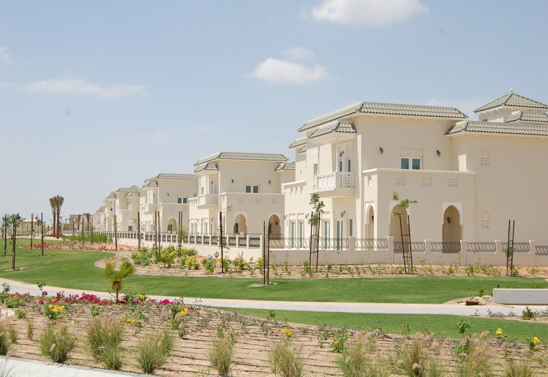 Al Furjan residential development in Dubai.