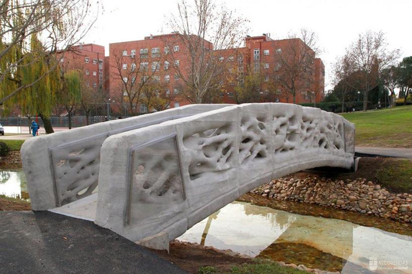 First 3D-printed pedestrian bridge constructed in Castilla-La Mancha.