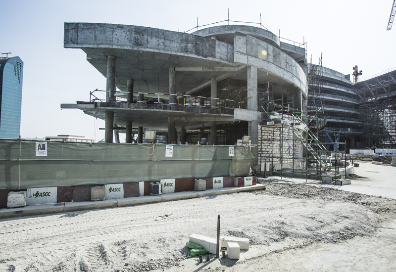 ASGC is working on the Marina Bloom development in Abu Dhabi Marina.