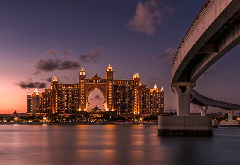 Atlantis The Palm in Dubai, UAE.