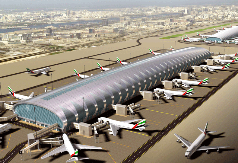 Two data centres will be built by Dubai Airports and Huawei, it was announced at GITEX 2016. [Representational image of DXB.]