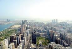 Aldar Properties reported a 9.1% rise in Q4 profits.