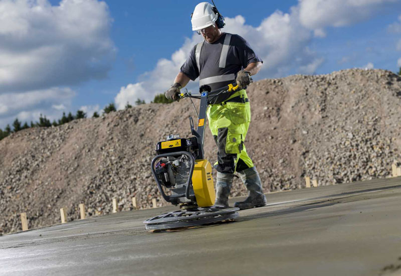 Atlas Copco's power trowels, which are used to apply a smooth finish to concrete slabs, are the safest in the market, according to the equipment manufacturer.