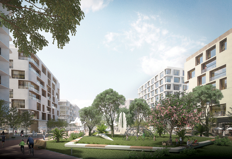 Anber Communitys villas and townhouses will boast direct access to a private park.