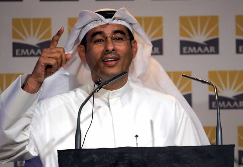 Mohamed Alabbar, chairman of Emaar Development and Emaar Properties.