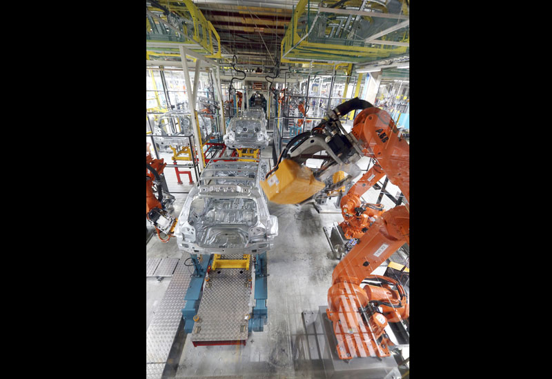Finland's Valmet Automotive has ordered more than 250 ABB industrial robots to build the new Mercedes-Benz GLC sport utility vehicle (SUV).