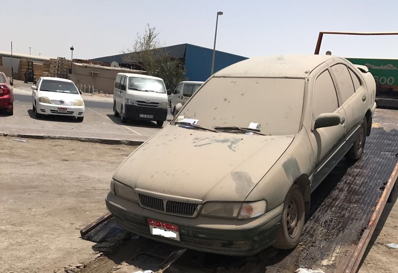 ADM issued 180 warnings to the owners of abandoned vehicles during the campaign.