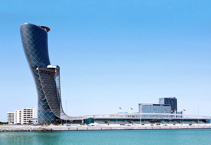 Hall 4 of the UAE's ADNEC exhibitions centre is being redeveloped [image: visitabudhabi.ae].