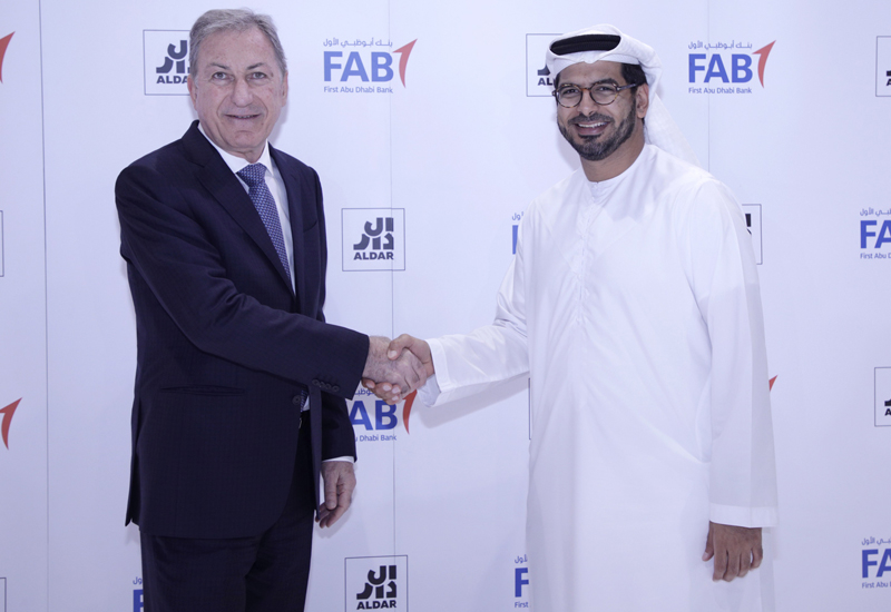 Aldar has signed an escrow agreement with FAB for Alghadeer.