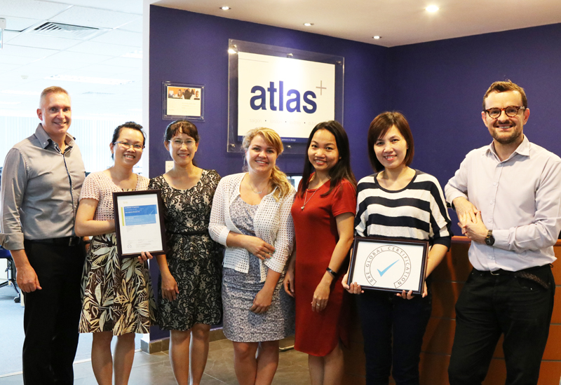 The certification will help speed up the tendering process for Atlas clients.