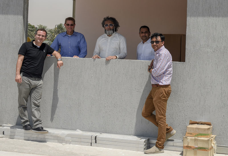 Faculty and students at American University of Sharjah (AUS) unveil Tiny House on campus.