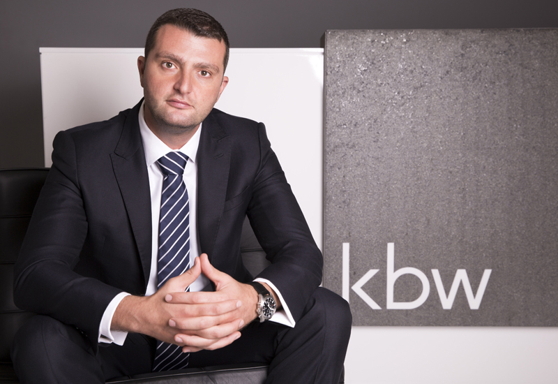 KBW Investments has appointed Aaron Chehab (above) as its chief commercial officer.
