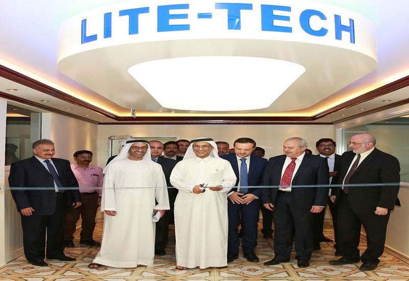 The opening of the Ras Al Khor Industrial Area facility was attended by chairman of the board of directors of Lite-Tech Industries, Abdulaziz Bin Yagub Al Serkal and board members of Masharie and Philips.