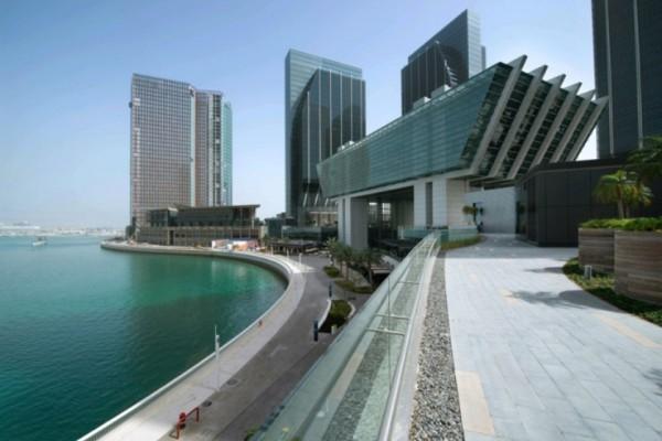 ADGM will open an arbitration centre on Al Maryah Island next year [image: WAM].