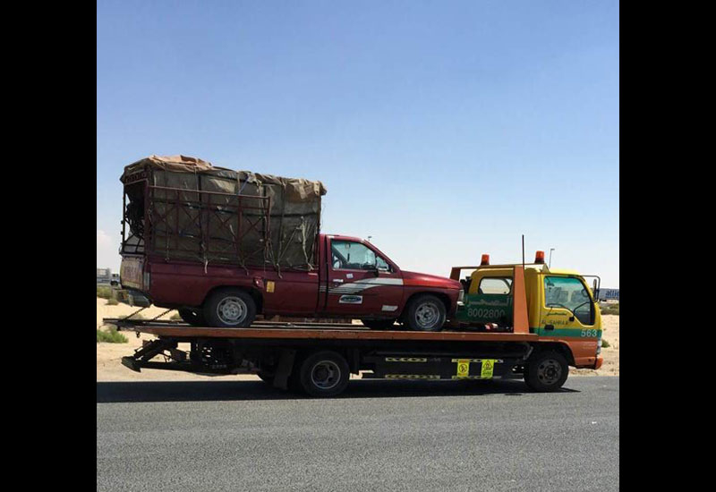 Abu Dhabi Municipality and its partners reported 10 offences and impounded three vehicles as part of a crackdown on illegal roadside auto parts vendors.