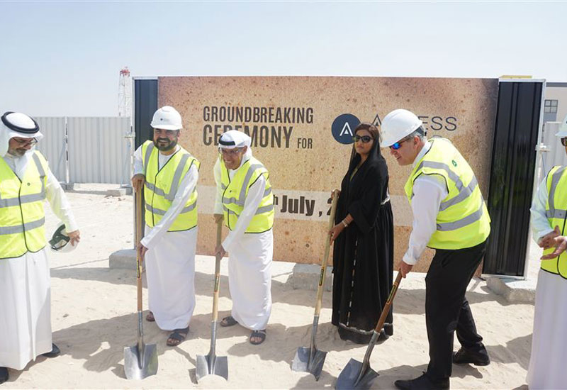 Ground has broken on Access World's 3PL facility in Dubai's Jafza area [image: Dubai Media Office].