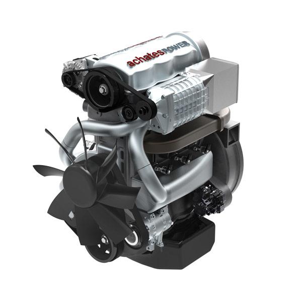 Achates Power opposed-piston engine.