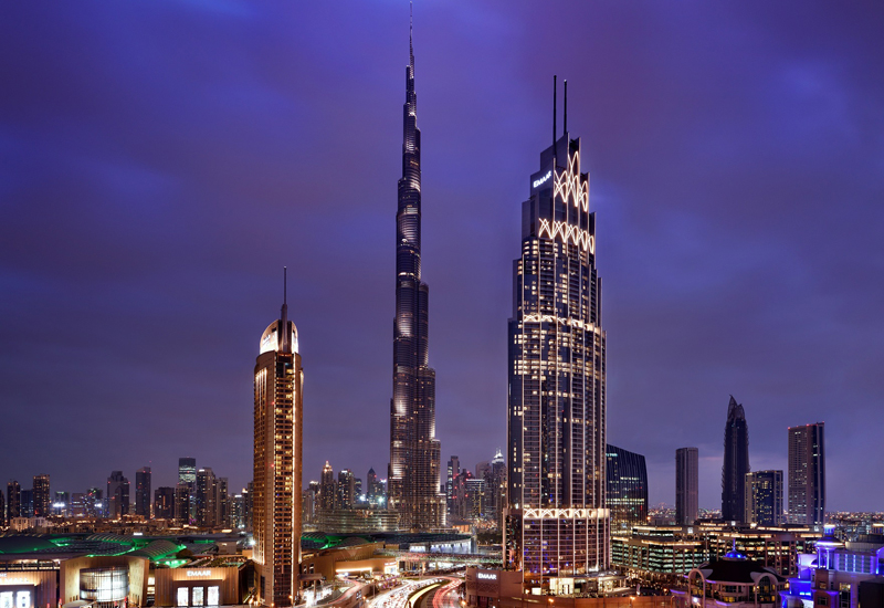 Emaar's Address Boulevard hotel opened in Downtown Dubai this March.