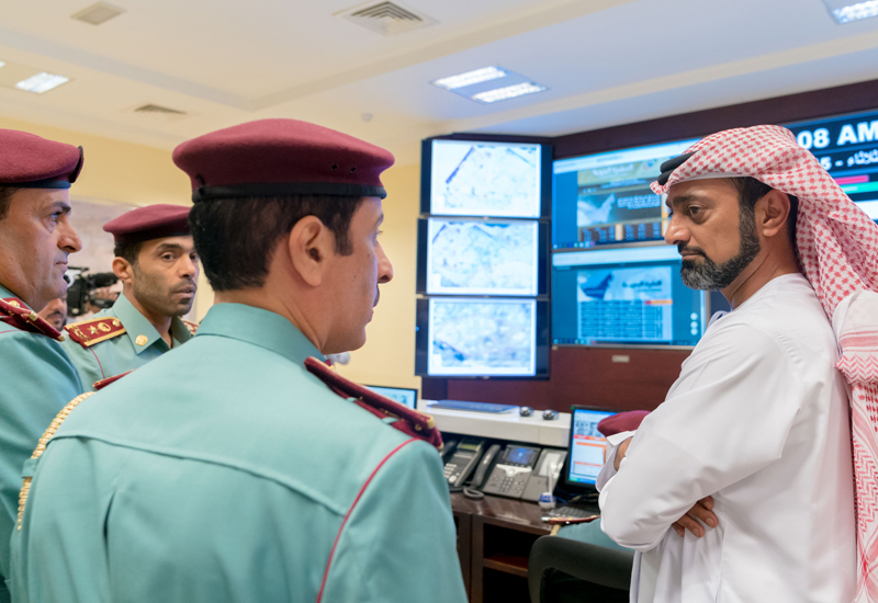 The new headquarters of Ajman Civil Defence is located in Al Jurf 2 [image: WAM].
