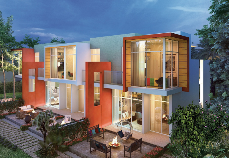 Akoya Imagine presents a collection of colourful villas aimed at young couples and families.