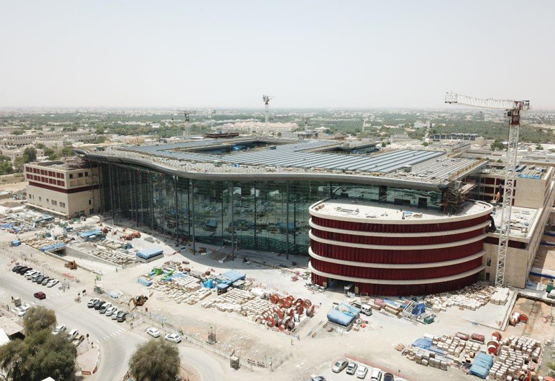 Al Ain Hospital is now 66% complete.