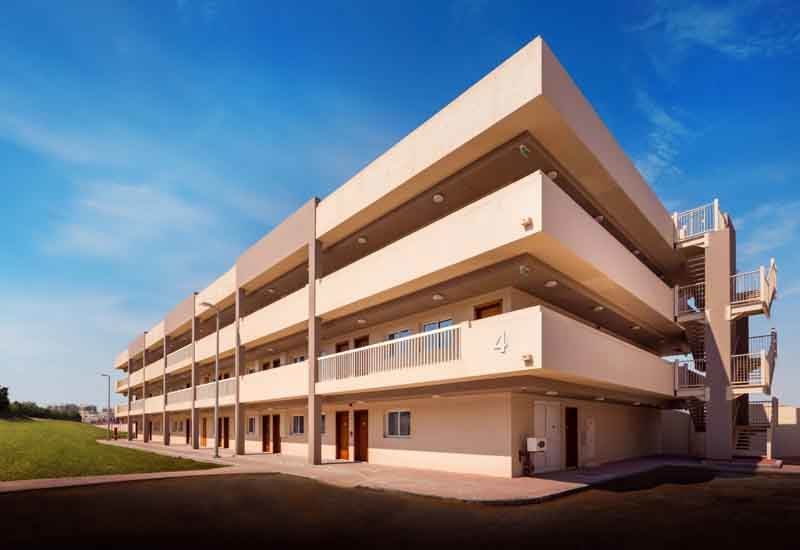 AFRE fully-furnished employee accommodation villas.