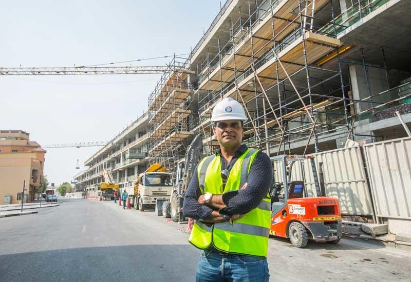 Rajesh Kumar Krishna heads up Beaver Gulf Group, a UAE construction heavyweight  [ Ajith Narendra / ITP Images].