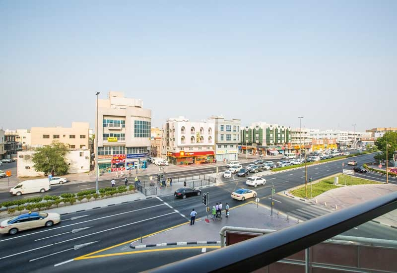 Muteena is located in Dubai's Deira area, and is among the city's busiest for road traffic and movement [ Ajith Narendra / ITP Images].