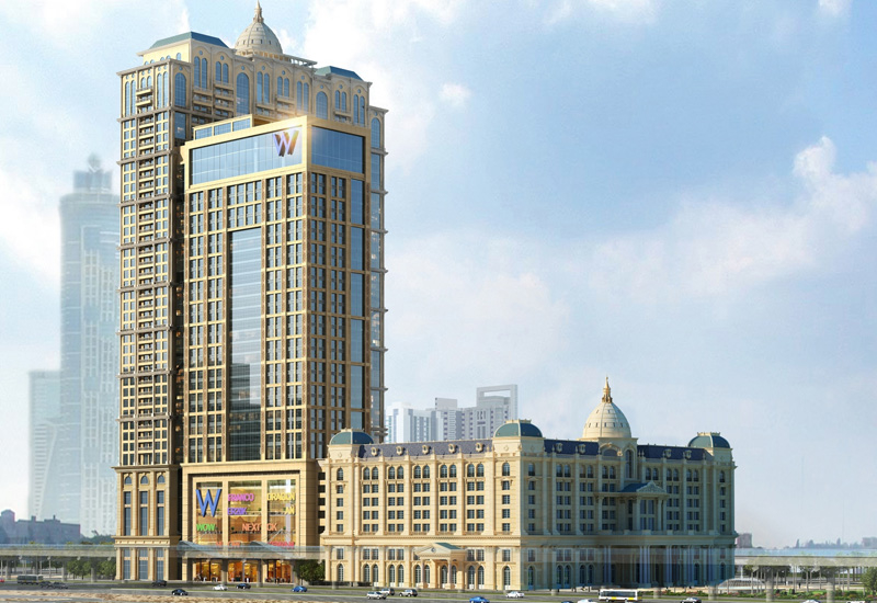 Assa Abloy is working on the Al Habtoor City development in Dubai.