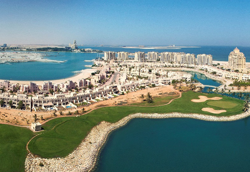 Ras Al Khaimah's Al Hamra Village features more than 4,000 residential units, five hotels, a golf course, a marina and yacht club, and a mall.