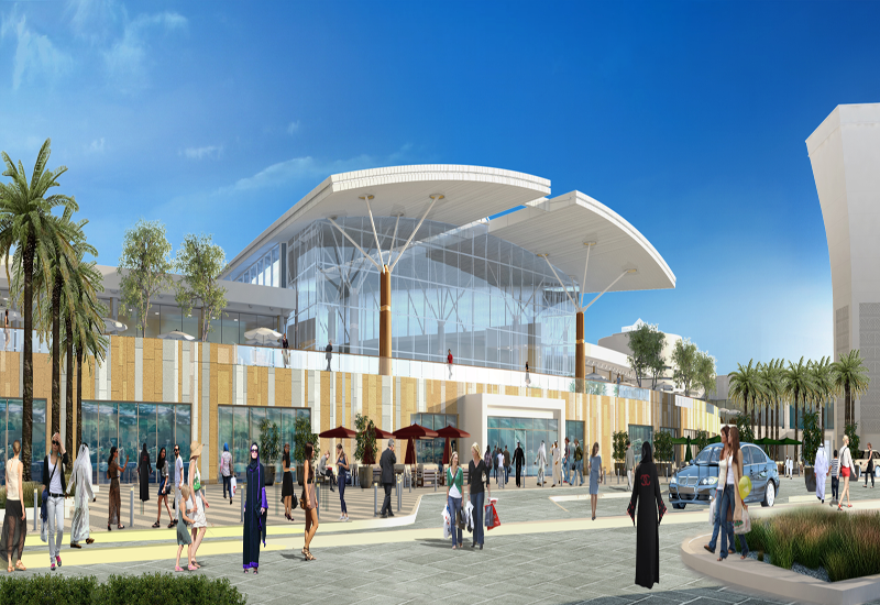 Al Jimi Mall is currently undergoing massive expansion programme to add a further 65 stores.