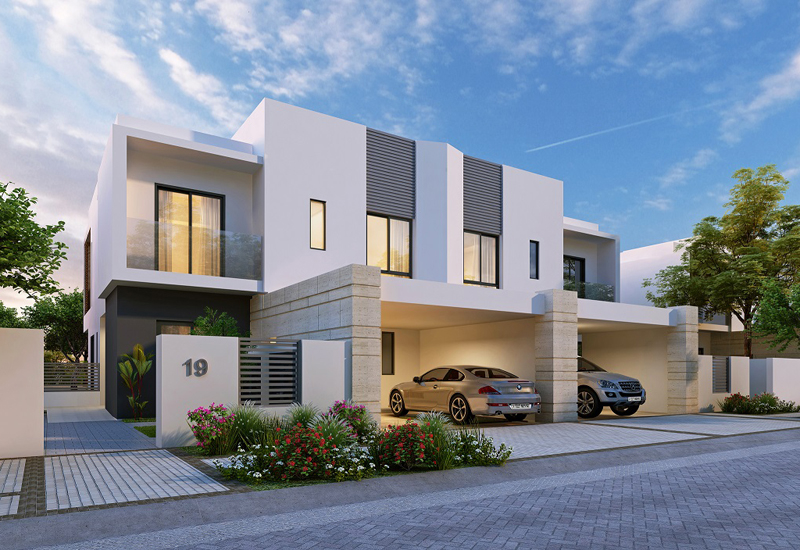 Villa in Al Lilac neighbourhood.