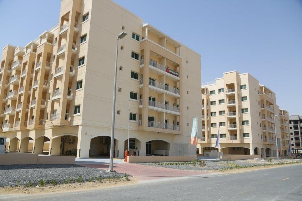 An Al Mazaya building in Dubailand.