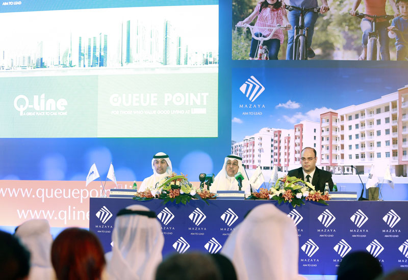 Al Mazaya's Q-Line project was launched in 2015.