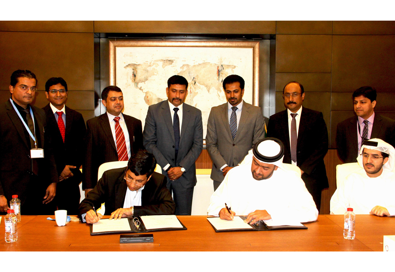 An official signing ceremony took place between the two organisations on the side lines of the World Future Energy Summit.
