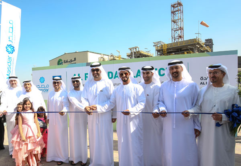 NEWS, Projects, Abu dhabi, Adnoc, Al Reyadah, Carbon capture utilisation and storage plant, Carbon dioxide, Emirates steel industries, Masdar, Middle east and north africa, Ministry of energy