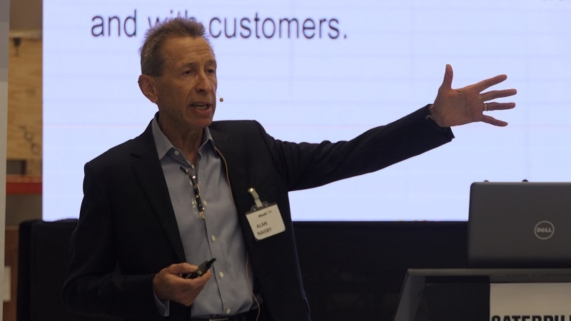 Alan Naisby, managing director of Mak Middle East and Mak Asia.