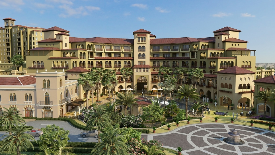 Alandalus features Andalucian-inspired architecture and Jumeirah Golf Estates' second clubhouse.