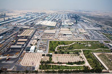 Albaissetto become the largest single-site aluminium smelter in the world.