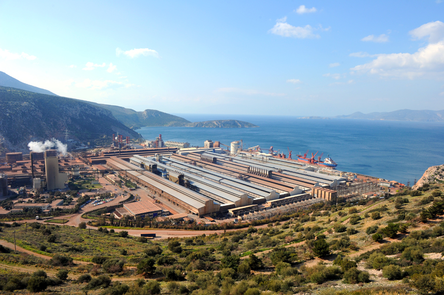 The industrial complex of Aluminium of Greece is one of Europe's most modern vertically integrated production plants.