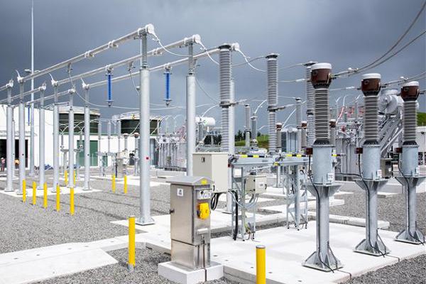 An ABB substation.