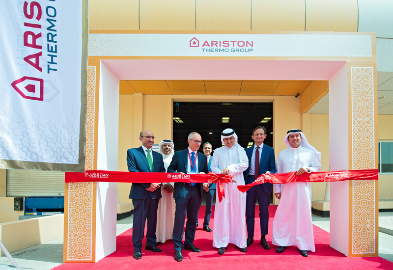 Ariston Thermo has inaugurated its first Middle East production facility in Bahrain.