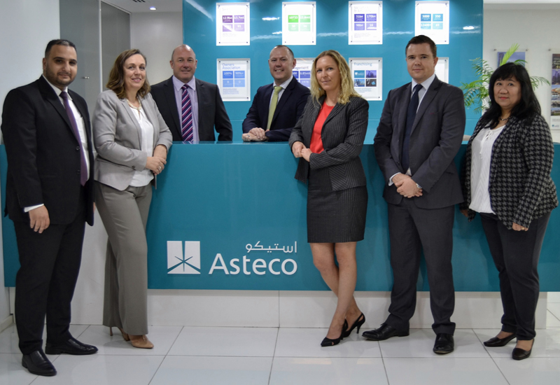 Asteco has promoted seven of its staff members to newly created associate director positions.