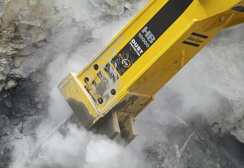 Atlas Copco recently launched the HB 10,000, packing 16,000 joules of impact energy.