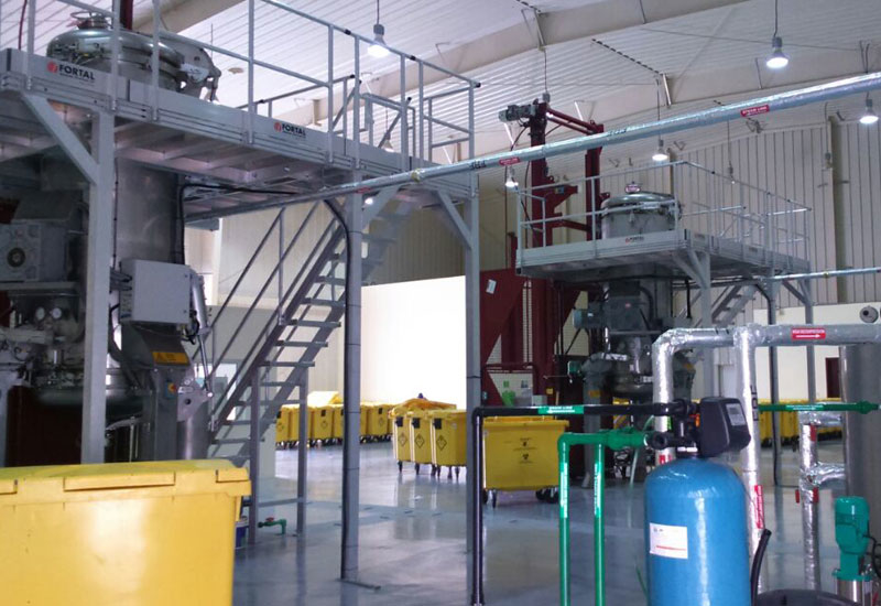 The new Liwa facility boasts a capacity of 2.2 tons on average per day.